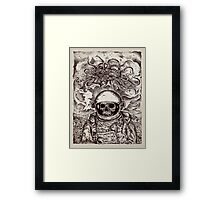 Space Devil Framed Print