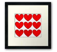 Hearts Heal Framed Print