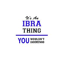 It's an IBRA thing, you wouldn't understand !! by thenamer