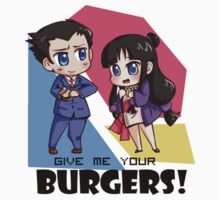 Give me your burgers 2! by panchy