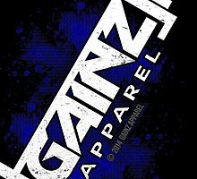 GAINZ APPAREL PHONE CASE IN BLUE! by GainzApparel