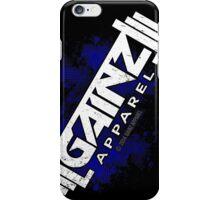 GAINZ APPAREL PHONE CASE IN BLUE! iPhone Case/Skin