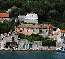Sipanska Luka, Sipan, Croatia by Geoffrey Grinton