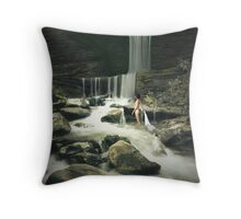 Lost Innocence Throw Pillow