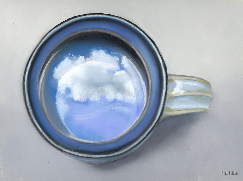 Clouds in My Coffee by ria hills