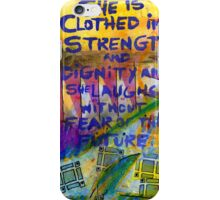 Being Clothed in STRENGTH iPhone Case/Skin