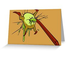 I kill crabs Greeting Card