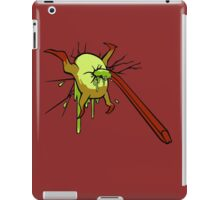 I kill crabs iPad Case/Skin