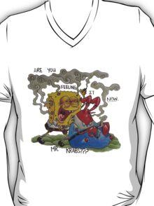 Sponge Bob Stoned Pants T-Shirt