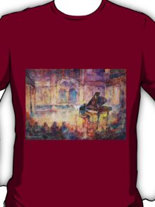 Piano Recital - Classical Pianist In Concert T-Shirt