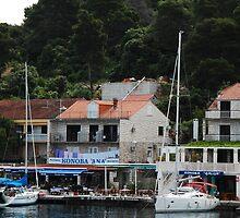 Pomena, Mljet, Croatia by Geoffrey Grinton