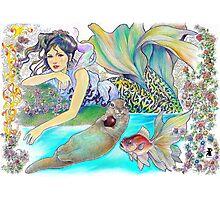 tropical fantasia - interlude Photographic Print