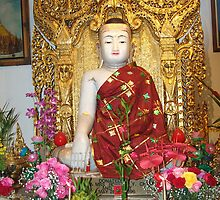 Budda Temple in Rowland Heights, CA USA by leih2008