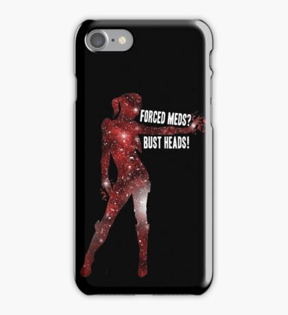 Mass Effect, Jack - Forced Meds? Bust Heads! iPhone Case/Skin