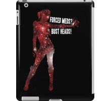 Mass Effect, Jack - Forced Meds? Bust Heads! iPad Case/Skin