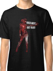 Mass Effect, Jack - Forced Meds? Bust Heads! Classic T-Shirt