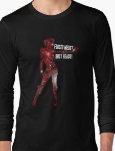 Mass Effect, Jack - Forced Meds? Bust Heads! Long Sleeve T-Shirt