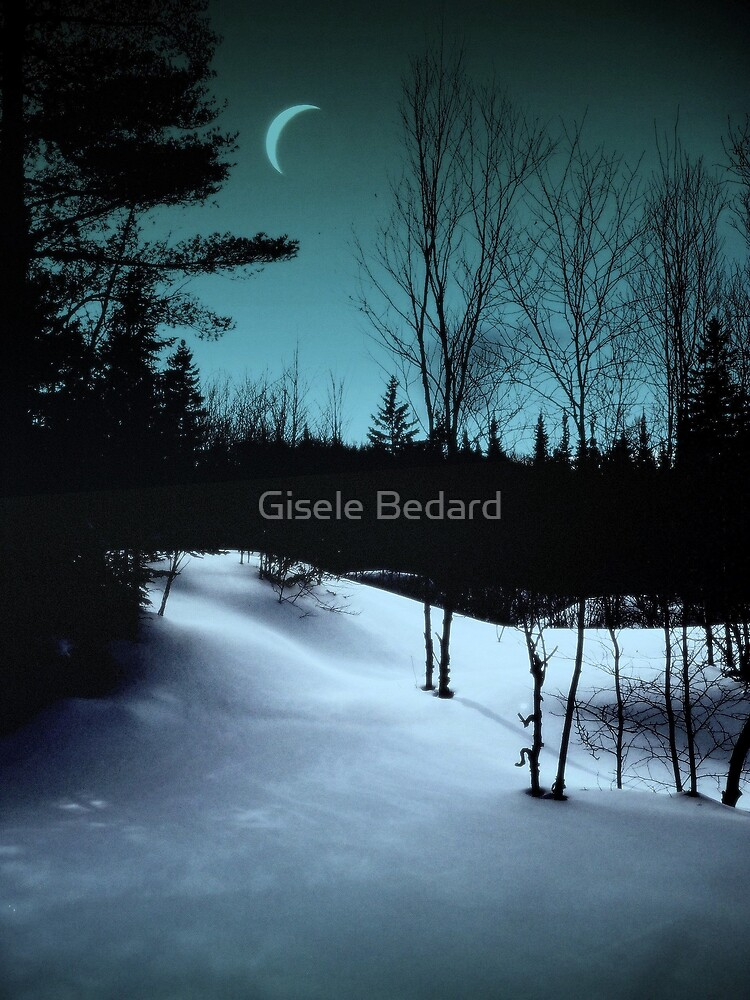 Between day and night. by Gisele Bedard