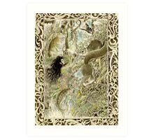 tropical fantasia - illumination Art Print