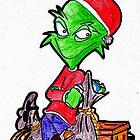 GRAFFITI gone GRINCH......... by misterree