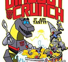 Grimlock's Dinobot Crunch by monsterfink