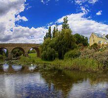 Richmond Bridge over Coal River - Tasmania by Stephen Kilburn