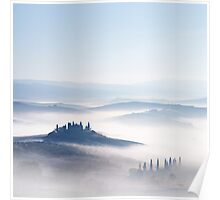 Tuscan Mist Poster
