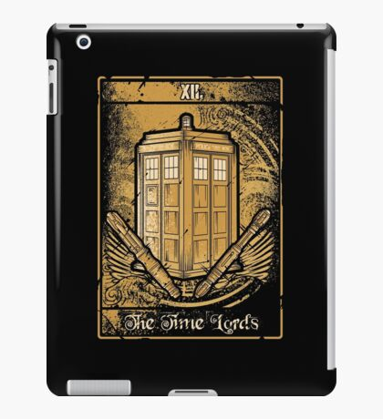The Time Lords iPad Case/Skin