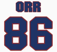 National football player Jimmy Orr jersey 86 by imsport