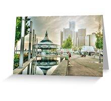 On The Riverfront Greeting Card