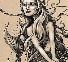 Mermaid with Rope by Bryan Collins
