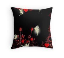 Fairys of Love and Joy Throw Pillow