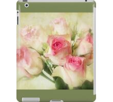 Watercolor Roses iPad Case/Skin