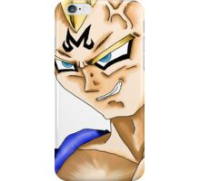 The Two Faces of Vegeta - The Sayian Prince iPhone Case/Skin