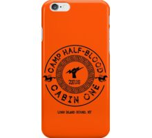 Percy Jackson - Camp Half-Blood - Cabin One - Zeus iPhone Case/Skin