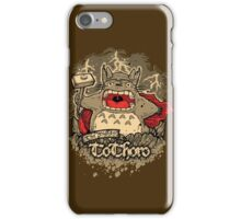 The Mighty ToThoro iPhone Case/Skin