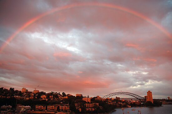 Light - Sydney Harbour, Australia by Philip Johnson