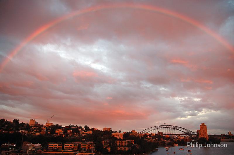 Light - Sydney Harbour, Australia by Philip Johnson
