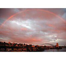 Light - Sydney Harbour, Australia Photographic Print