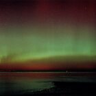 Aurora over Fife, from Musselburgh by Duncan Waldron