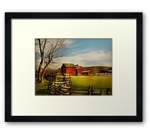 Bought The Farm Framed Print