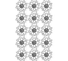 Flower Pattern Photographic Print
