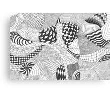 Doodles and Doodles and Doodles, Oh My! Canvas Print