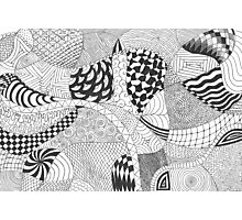 Doodles and Doodles and Doodles, Oh My! Photographic Print