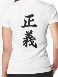 Seigi Women's Fitted V-Neck T-Shirt