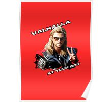 Thor - Valhalla at your boy Poster