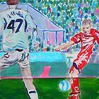 Football by Joni Philbin
