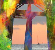 Window To Sunset by ArtByRuta