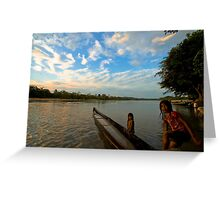 Amazon Ecuador Greeting Card