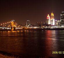 Cincinnati Night by daniel41016